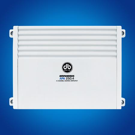 APM 250 4D - 4 Channel Marine Amplifier - (SCRATCH & DENT)