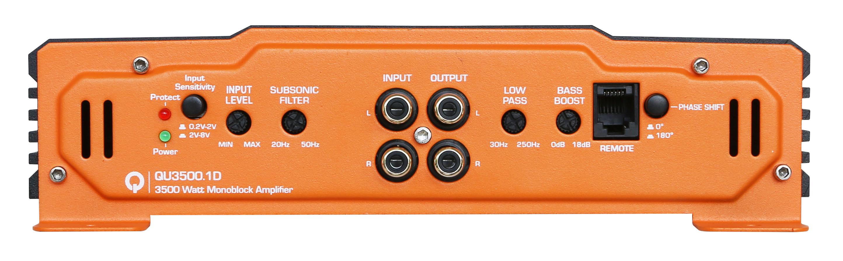 QU3500 1D - Class D Monoblock Amplifier - 3500W