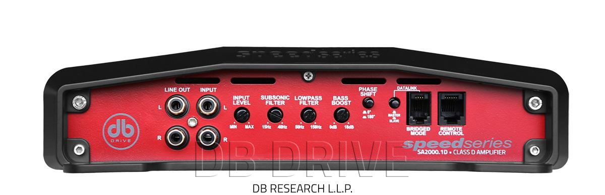 SA2000 1D - Class D Monoblock Amplifier