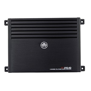 A8 250.4D - 4 Channel Stereo Amplifier