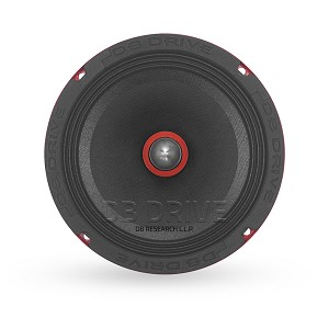 "P2MB 6PR8 - 6.5"" 8 Ohm Pro Audio Midrange W/ Phase Plus"