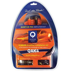 QAK4 - 4 Ga. Amplifier Installation Kit
