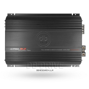 A7PRO 3K.2: 2 Channel High Power Full Range Class D Amplifier