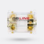 ANLFB01X - Gold Plated Dual Fuse Distribution Block