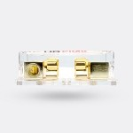 FB428X - Gold Plated Dual AGU Fuse Holder