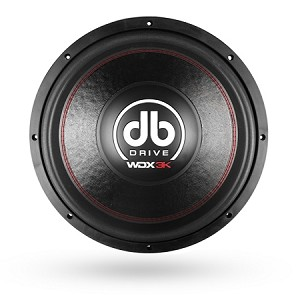 "WDX15 3K - 15"" 4 Ohm DVC Subwoofer (Factory Refurbished)"